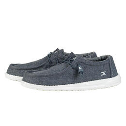 Hey Dude Men's Wally Linen Fumo Casual Shoes