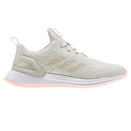 Adidas Girl's Rapidrun X Knit Running Shoes White