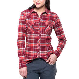 Kuhl Women's Alina Flannel Long Sleeve Top