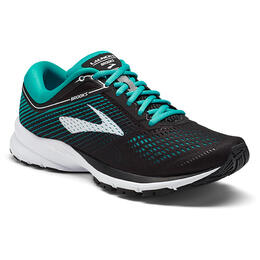 Brooks Women's Launch 5 Running Shoes Black/Teal