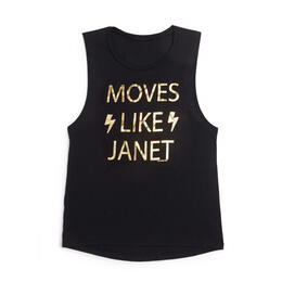 Oil Digger Tees Women's Moves Like Janet Tank Top