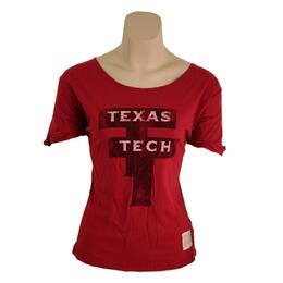 Original Retro Brand Women's Tx Tech Relaxed Dolman