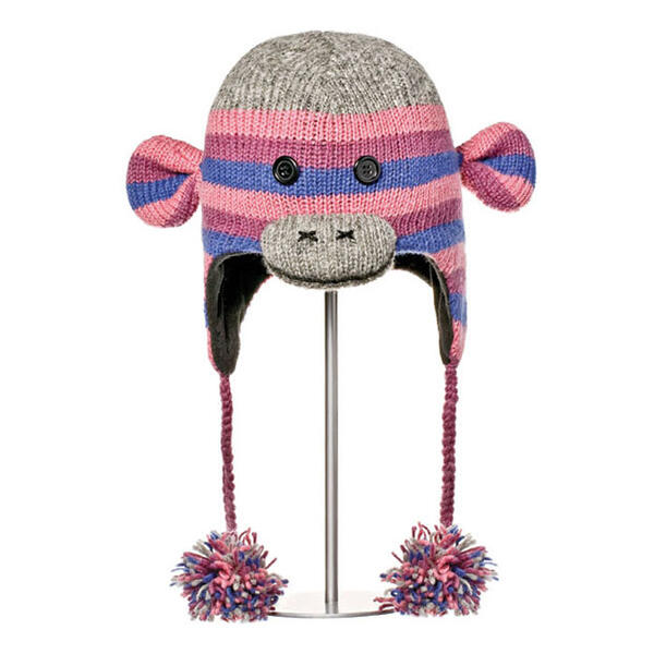 Knitwits Stripe Sockey Pilot Hat