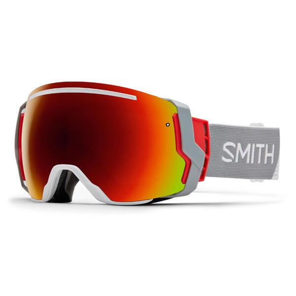 Smith I/07 Snow Goggles With Red Sol-x Mirr