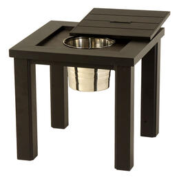 Hanamint Sherwood Ice Bucket Side Table