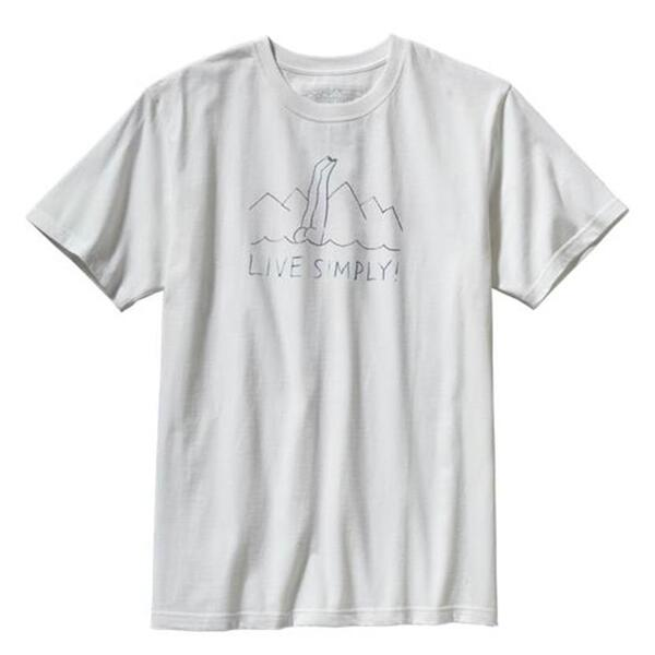 Patagonia Men's Live Simply Dive-in Tee Shirt