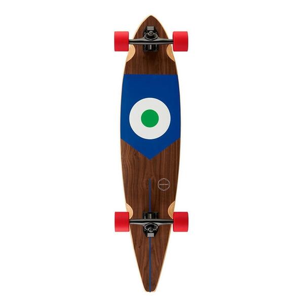 Goldcoast Goal! Italy Pintail Longboard '14