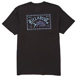 Billabong Men's Bad Fish Shirt Tee Shirt