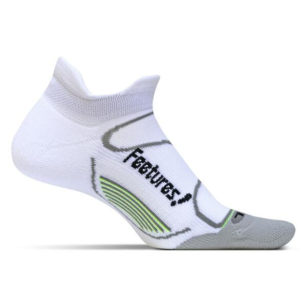Feetures Men's No Show Tab Elite Light Cushion Socks