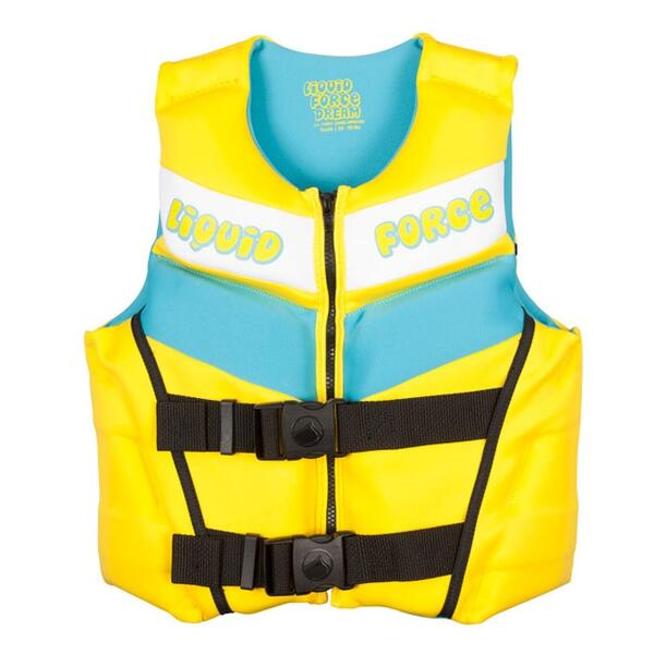 Liquid Force Dream Youth Uscga Wakeboard Vest