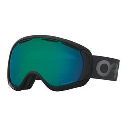 Oakley Canopy Factory Pilot Blackout PRIZM Snow Goggles with Jade Iridium Lens