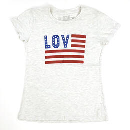 Original Retro Brand Women's Love Short Sleeve T Shirt