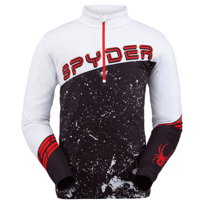 Spyder Men's Mandate Zip T Neck Top