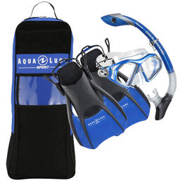 Aqua Lung Sport Trooper LX Silicone Snorkel Set