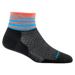 Darn Tough Vermont Women's Stripe 1/4 Cycling Socks