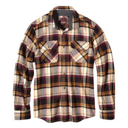 Prana Men's Lybeck Long Sleeve Flannel Shirt