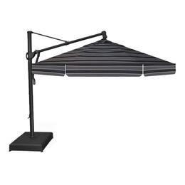 Treasure Garden 13' AKZ Cantilever Umbrella - Peyton Granite Stripe
