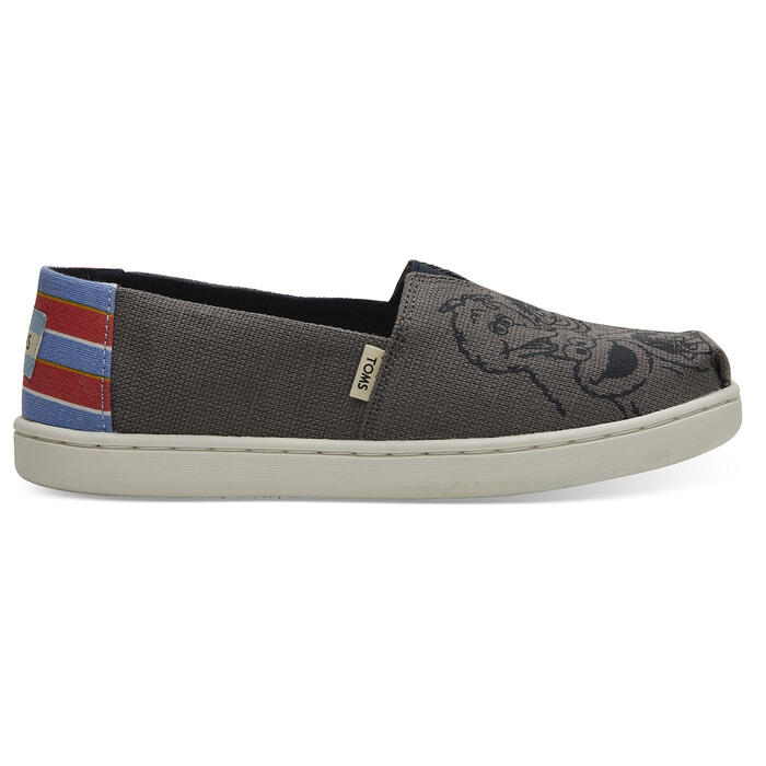 Toms Girl's Alpargata Youth Casual Shoes Sh