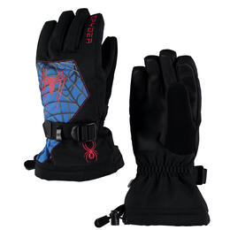 Spyder Boy's Marvel Overweb Gloves