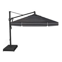 Treasure Garden 11' AKZ Cantilever Umbrella - Peyton Granite Stripe