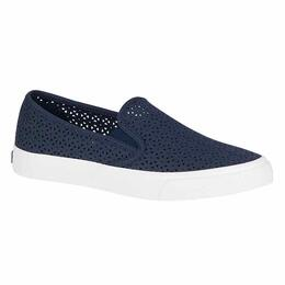Sperry Women's Seaside Perforated Casual Navy Shoes
