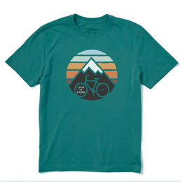 Life Is Good Men's Mountain Bike T-Shirt