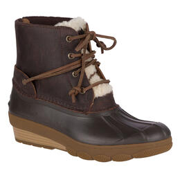Sperry Women's Saltwater Wedge Tide Fur Duck Boots