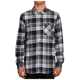 Volcom Men's Caden Plaid Long Sleeve Shirt