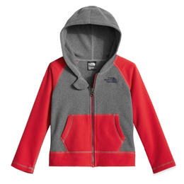 The North Face Toddler Boy's Glacier Full Zip Hooded Fleece Jacket