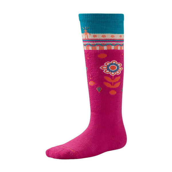 Smartwool Girl's Wintersport Flower Patch S