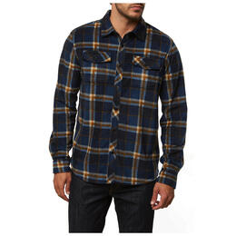 O'neill Men's Glacier Crest Long Sleeve Button Up Shirt