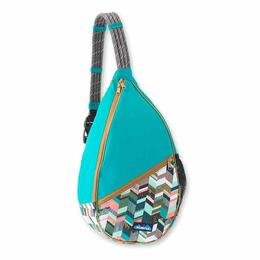 KAVU Women's Paxton Pack Backpack Coastal Blocks