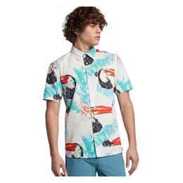 Hurley Men's Toucan Short Sleeve Shirt