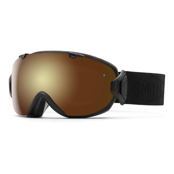 Smith I/O S Snow Goggles With Gold Sol X/Blue Sensor Lenses