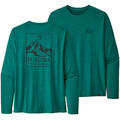 Patagonia Men's Capilene™ Cool Daily Graphic Long Sleeve Shirt alt image view 12
