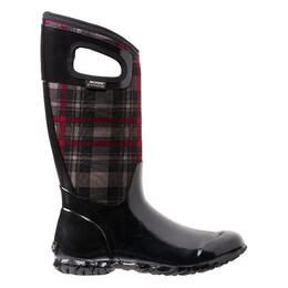 Bogs Women's North Hampton Plaid Insulated Boots