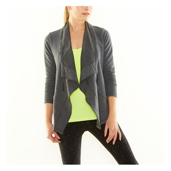 Lucy Women's Studio Flow Wrap Jacket