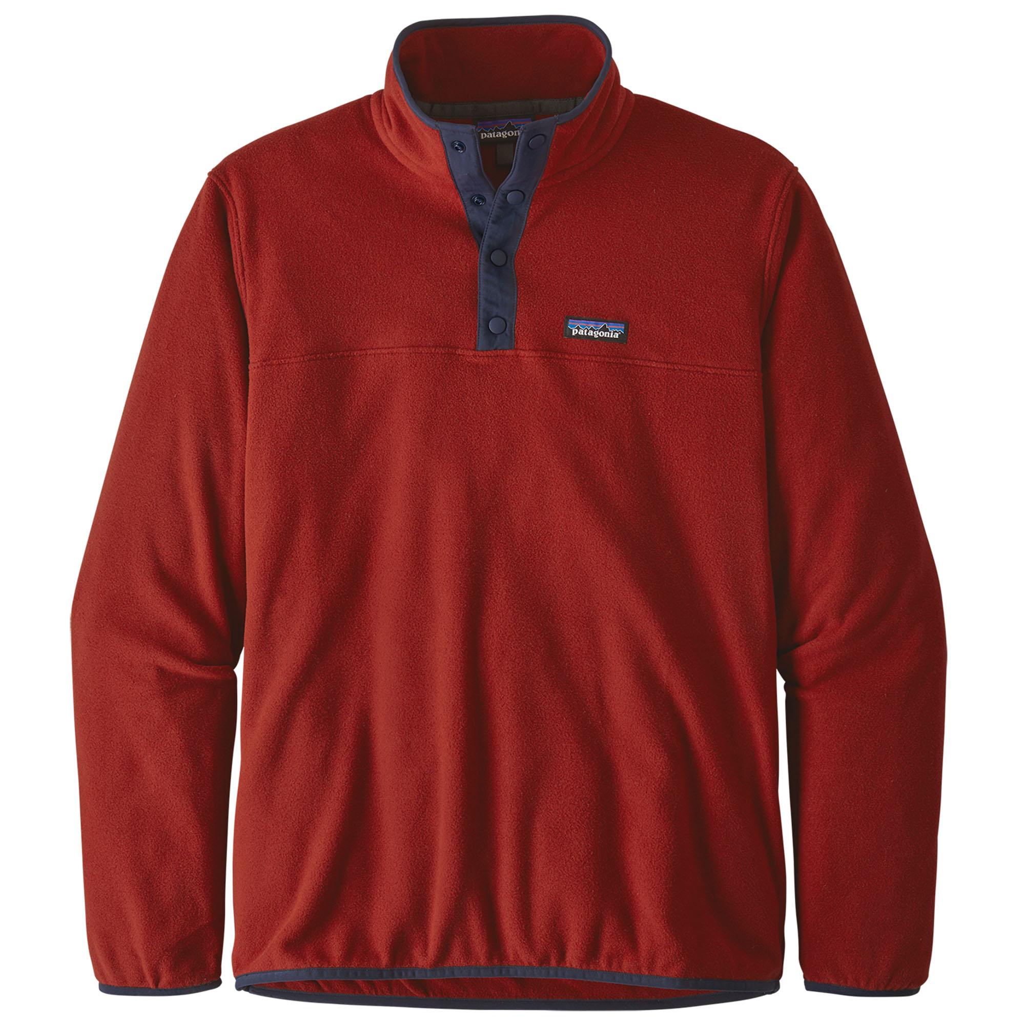 Patagonia M´s Micro D Snap-T Herren Fleece Pullover Sweatshirt