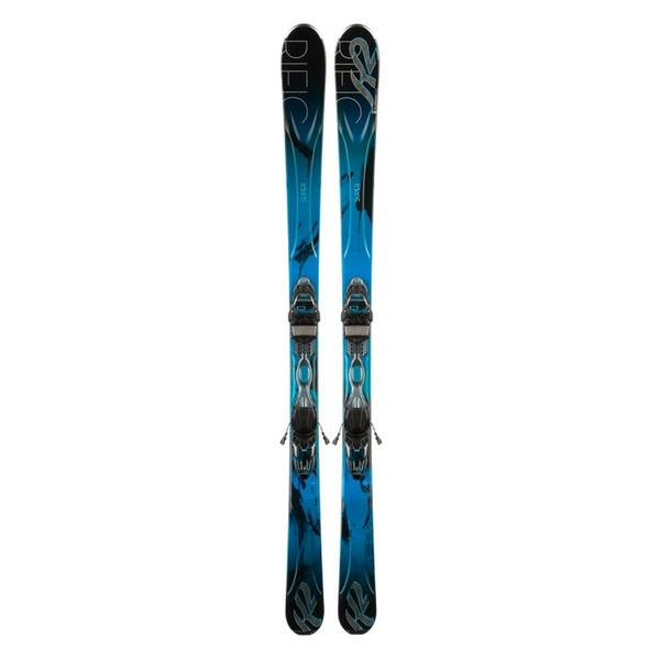 K2 Women's Superific All Mountain Skis with ER3 10 Bindings '14