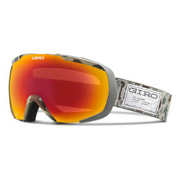Giro Onset Snow Goggles With Amber Scarlet Lens