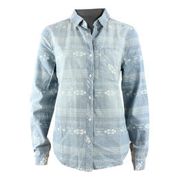Dylan Women's Cheyenne Chambray Long Sleeve Shirt