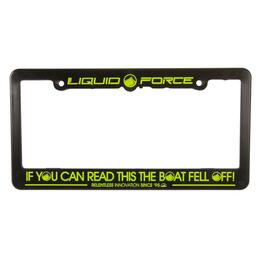 Liquid Force License Plate Frame