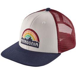 58864803e42544 Patagonia Girls' Fitzroy Rainbow Trucker Hat