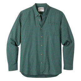 Mountain Khakis Men's Spalding Gingham Long Sleeve T Shirt