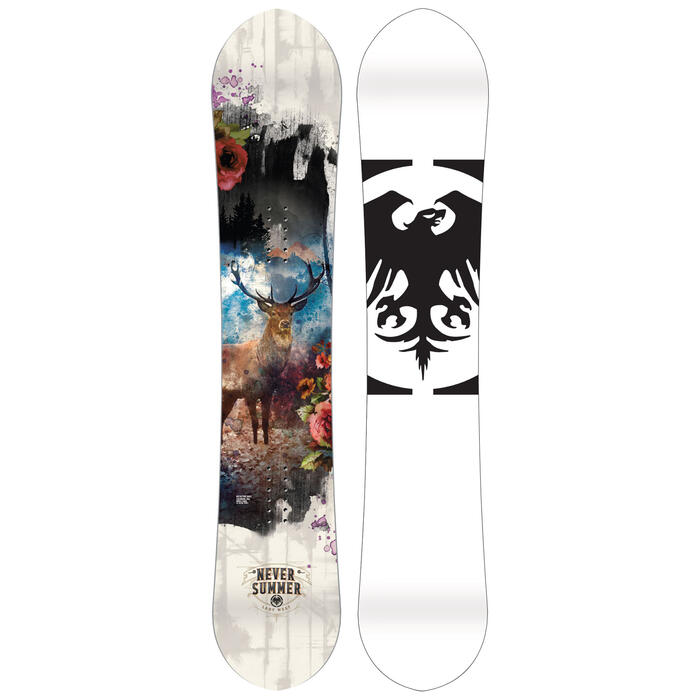 Never Summer Women's Lady West Snowboard '20