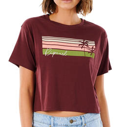 Rip Curl Women's Tallows Crop T Shirt