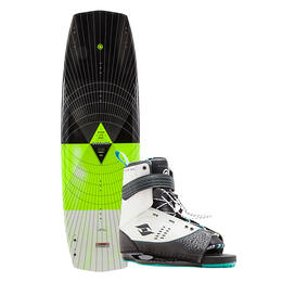 Hyperlite Men's Baseline Wakeboard W/ Focus Binding '18