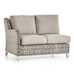 South Sea Rattan Grande Isle Left Arm Loveseat