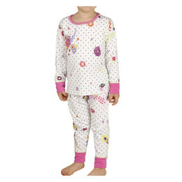 Hot Chillys Toddler Girl's Print Set