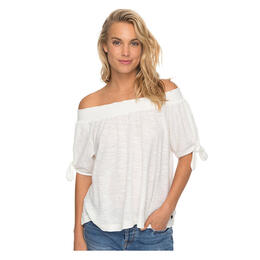 Roxy Women's Carribean Mood Off The Shoulder Top